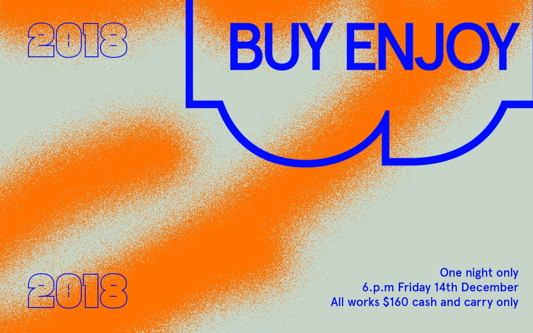 Buy Enjoy 2018 poster, designed by Abe Hollingsworth