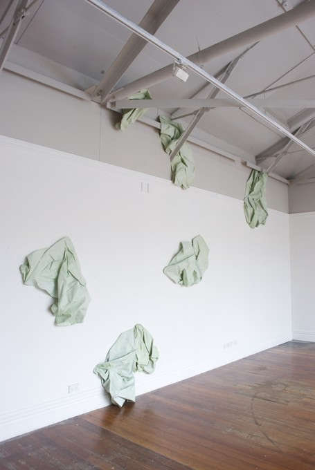 Emma Fitts, Compressed Space, 2008. Image courtesy of Kimberley Lorne-McDougall Gustavsson.
