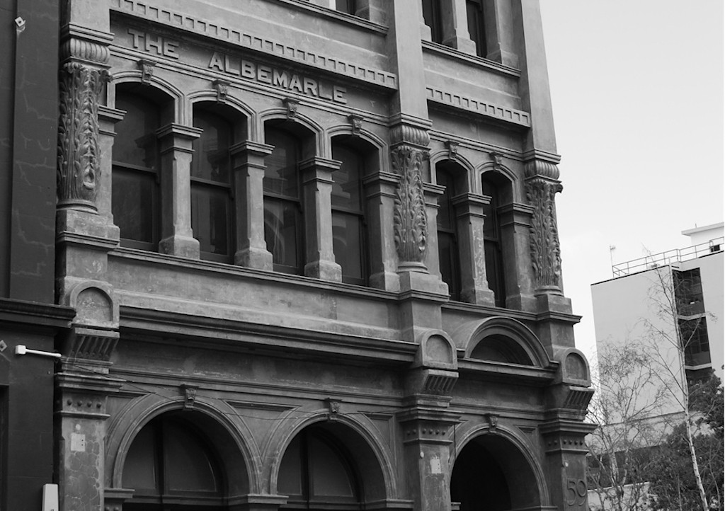 The Albermarle, 59 Ghuznee Street, Wellington, 2008. Image courtesy of Viviane Perenyi.