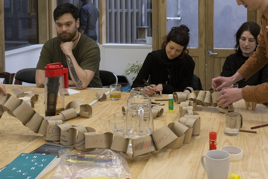 Being together: talking and making whanaungatanga with Ōtautahi Kōrerotia, 19 October 2019.