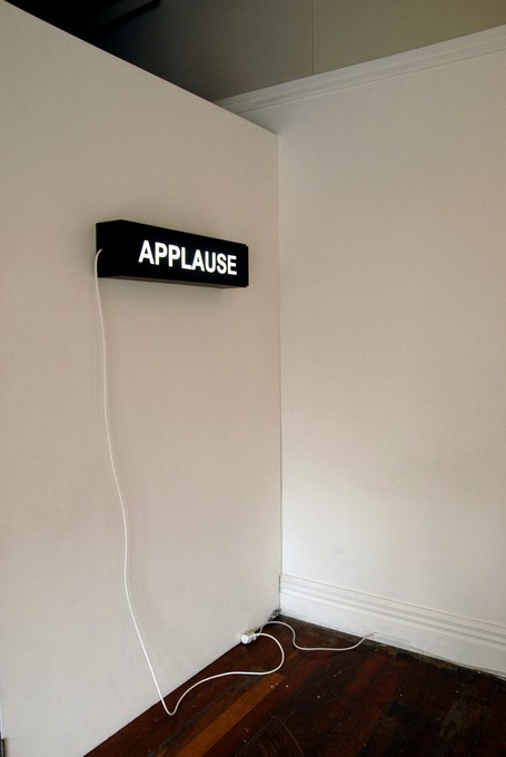 Justine Walker, Untitled (Applause), 2008. Image courtesy of Bex Pearce.