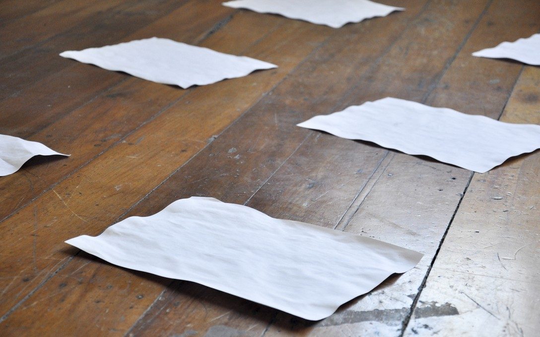 Melanie Bell, Papers, 2011. Image courtesy of Lance Cash.