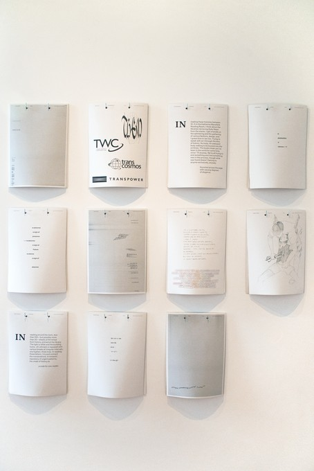 Ella Sutherland, Margins & Satellites, 2018, with contributions from Sean Burn, Laura Duffy, Simon Gennard, Robbie Handcock, Ana Iti, Rachel O'Neill and Aliyah Winter. Image courtesy of Xander Dixon.