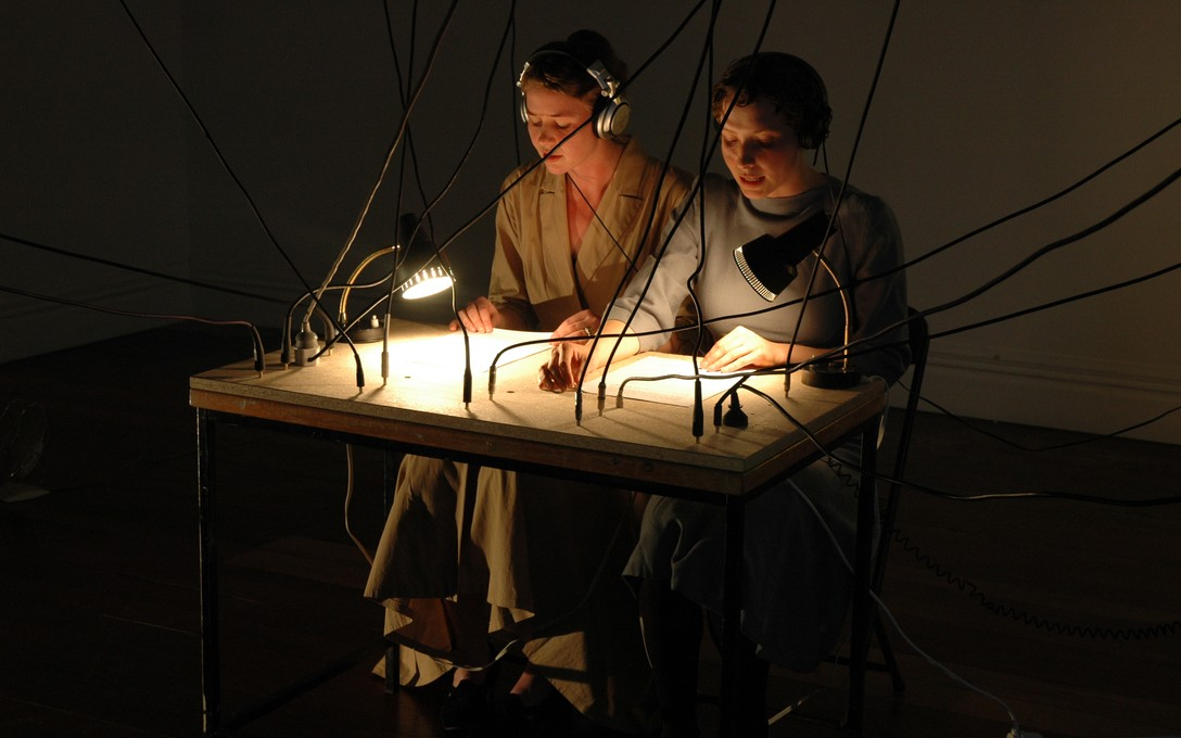 Amy Howden-Chapman and Biddy Livesey, Raised by Wolves, 2006. Image courtesy of Jeremy Booth.