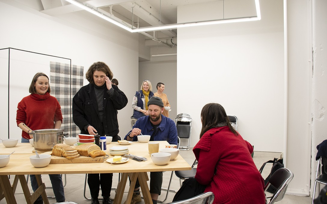 Zoe Thompson-Moore, The making of bread, etc. #8, for Daegan Wells' Artist Talk, 1 August 2020.