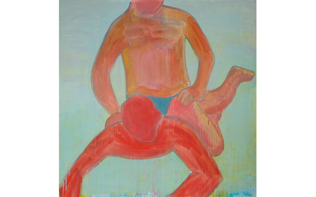 Robbie Handcock, Delicate Convict, 2016, oil on canvas. Image courtesy of Shaun Matthews.
