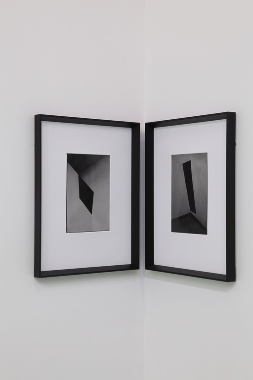 Andrew Beck, Shadow Painting I and II, 2012. XYZ Collective.