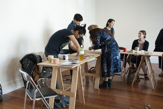 Knotting workshop with Wai Ching Chan, 5 May 2019.