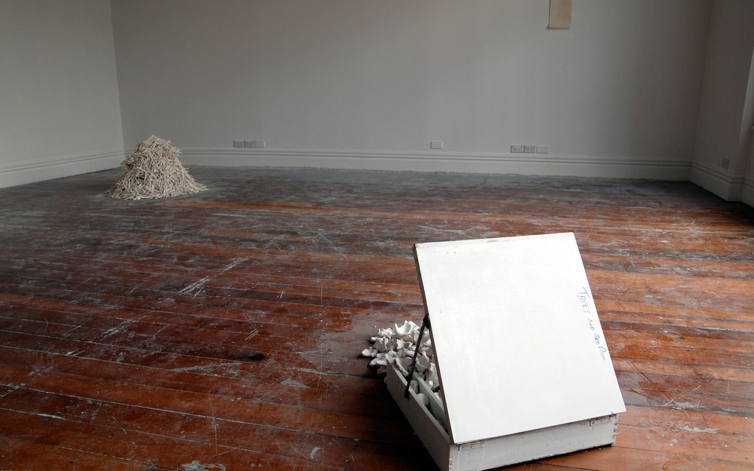 Trenton Garrat, Our house (white indices), 2008. Image courtesy of Bex Pearce.