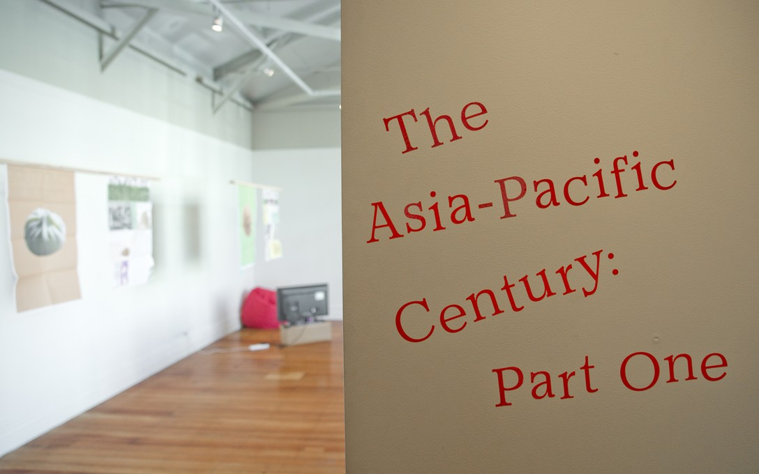 The Asia-Pacific Century, 2016. Curated by Emma Ng and Ioana Gordon-Smith. Image courtesy of Shaun Matthews.