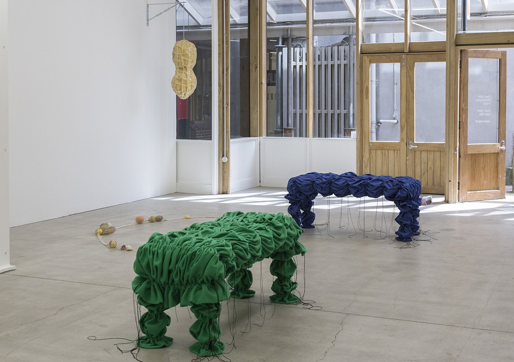 Lucy Meyle, Soft Spot, 2020, installation view. Image courtesy of Cheska Brown.