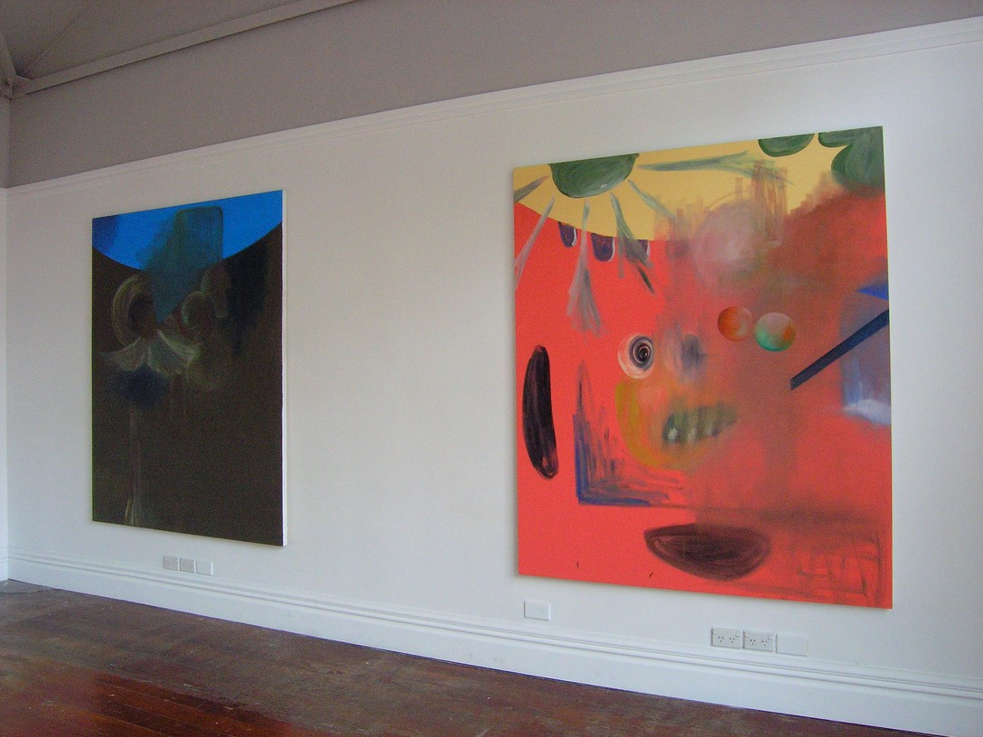 Sam Rountree-Williams, The Duke [left], Helicopter [right], 2008. Image courtesy of Maia McDonald.