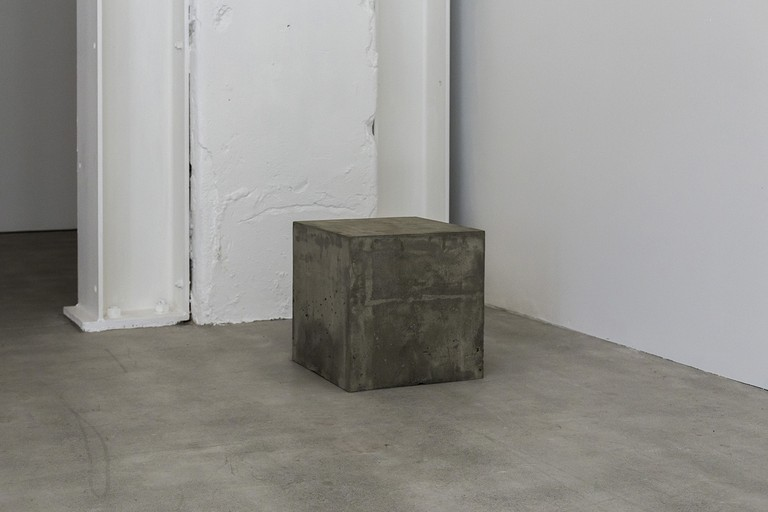 Deanna Dowling, The crab and the rock: landing at the resort, 2019, detail, concrete box. Image courtesy of Cheska Brown.