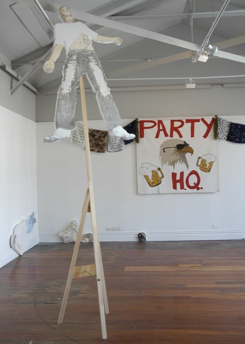 Stuart Bailey, Party H.Q, 2007. Image courtesy of Jenny Gillam.